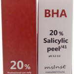 20 salicylic BHA chemical peel oily skin combination acne scaring clear pores blackheads discoloration fine lines mesoinstitute