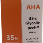 35 AHA glycolic chemical peel anti aging mimic wrinkles excessive oil hormonal acne enlarged pores hyperkeratosis age spots dry skin mature skin sun damage barcelona