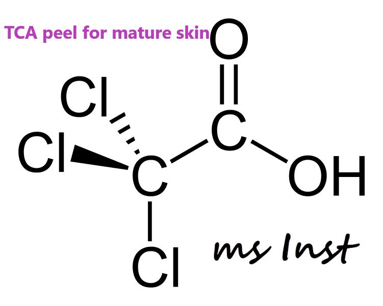 TCA peeling mesoinstitute collagen elastin wrinkles caviar extract barcelona mature skin cuperose peeling summer