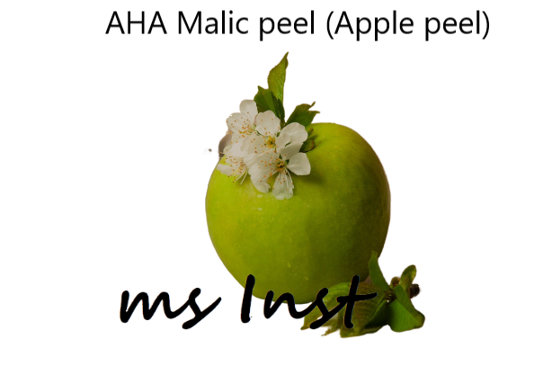 aha malic acid peel collagen production restores skin vitality mesoinstitute wrinkles mature skin elastin apple peel