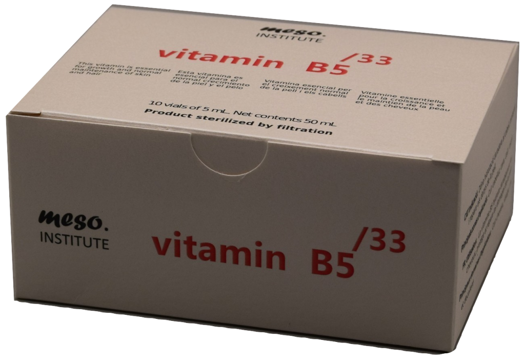 vitamin b 5 stretch marks hair loss acne oily skin scars panthenol mesotherapy cocktails anti aging