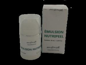 emulsion nutripeel mesoinstitute caviar extract hyaluronic acid collagen elastin peeling replenishes firm skin wrinkles mature skin