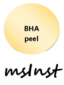 bha chemical peel salicilyc acne oily skin blemish mesoinstitute