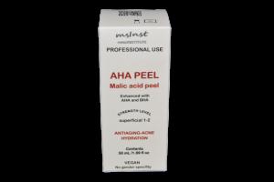aha malic acid peel collagen production restores skin vitality mesoinstitute wrinkles mature skin elastin apple peel